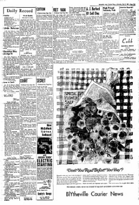 The Courier News from Blytheville, Arkansas on May 6, 1967 · Page 4