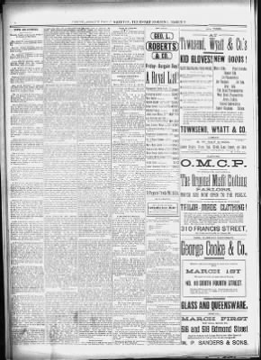 St. Joseph Gazette-Herald from St. Joseph, Missouri on March 8, 1888 · 4