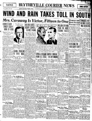 The Courier News from Blytheville, Arkansas on January 13, 1932 · Page 1