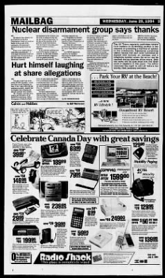 Alberni Valley Times from Alberni, British Columbia, Canada on June 29, 1994 · 5