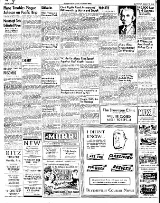 The Courier News from Blytheville, Arkansas on August 2, 1952 · Page 8