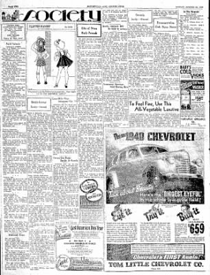The Courier News from Blytheville, Arkansas on October 30, 1939 · Page 2
