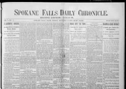 Spokane Daily Chronicle