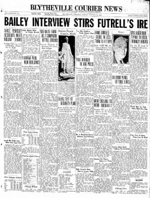 The Courier News from Blytheville, Arkansas on October 19, 1936 · Page 1