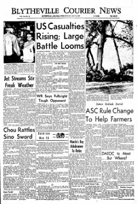 The Courier News from Blytheville, Arkansas on May 15, 1967 · Page 1
