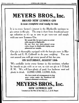 The Courier News from Blytheville, Arkansas on August 15, 1934 · Page 3