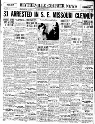 The Courier News from Blytheville, Arkansas on January 14, 1932 · Page 1