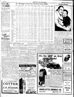 The Courier News from Blytheville, Arkansas on August 16, 1934 · Page 6