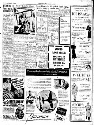 The Courier News from Blytheville, Arkansas on October 22, 1936 · Page 9