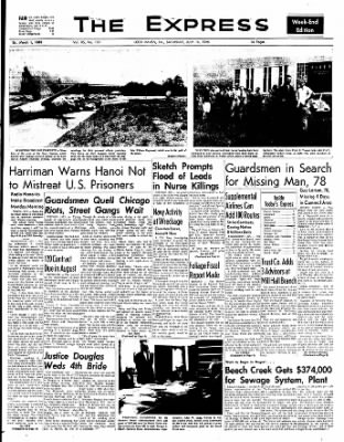 The Express from Lock Haven, Pennsylvania on July 16, 1966 · Page 1