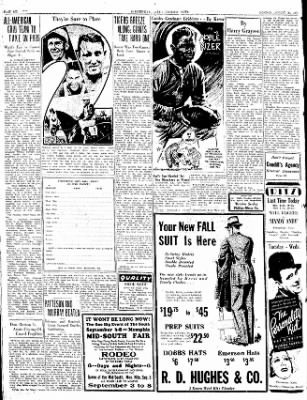 The Courier News from Blytheville, Arkansas on August 20, 1934 · Page 6