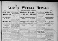 Albany Weekly Herald