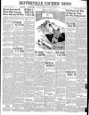 The Courier News from Blytheville, Arkansas on November 11, 1939 · Page 1