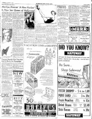 The Courier News from Blytheville, Arkansas on August 5, 1952 · Page 3