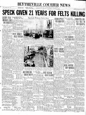 The Courier News from Blytheville, Arkansas on October 28, 1936 · Page 1