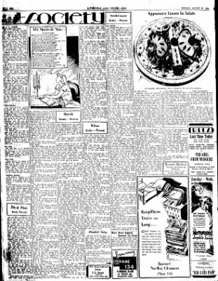 The Courier News from Blytheville, Arkansas on August 27, 1934 · Page 2