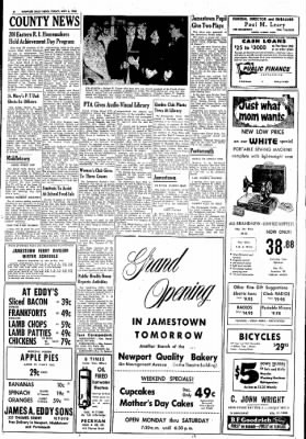 Newport Daily News from Newport, Rhode Island on May 6, 1960 · Page 6