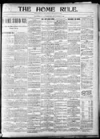 Sample The Home Rule front page