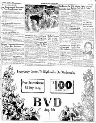 The Courier News from Blytheville, Arkansas on August 5, 1952 · Page 9