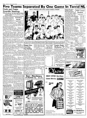Logansport Pharos-Tribune from Logansport, Indiana on June 13, 1957 · Page 40