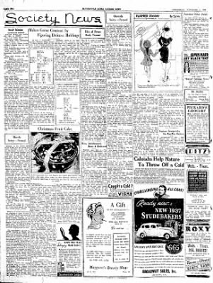 The Courier News from Blytheville, Arkansas on November 4, 1936 · Page 2