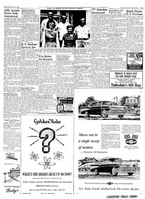Logansport Pharos-Tribune from Logansport, Indiana on June 14, 1957 · Page 19