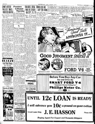 The Courier News from Blytheville, Arkansas on September 5, 1934 · Page 6