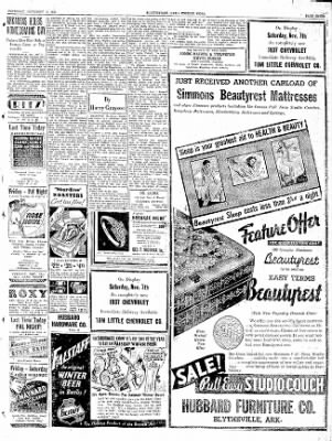 The Courier News from Blytheville, Arkansas on November 5, 1936 · Page 7