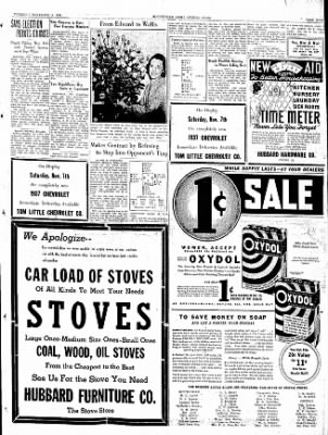 The Courier News from Blytheville, Arkansas on November 5, 1936 · Page 9