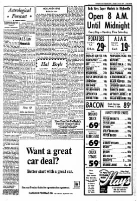 The Courier News from Blytheville, Arkansas on June 12, 1967 · Page 7