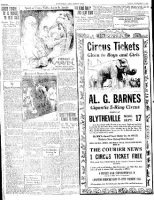 The Courier News from Blytheville, Arkansas on September 7, 1934 · Page 6