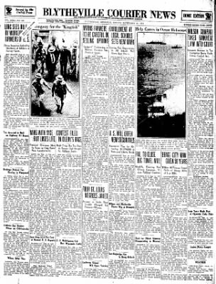 The Courier News from Blytheville, Arkansas on September 10, 1934 · Page 1