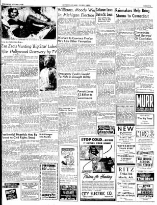 The Courier News from Blytheville, Arkansas on August 6, 1952 · Page 5