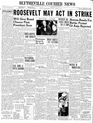 The Courier News from Blytheville, Arkansas on April 4, 1941 · Page 1