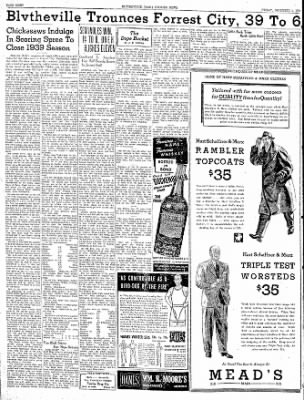The Courier News from Blytheville, Arkansas on December 1, 1939 · Page 8