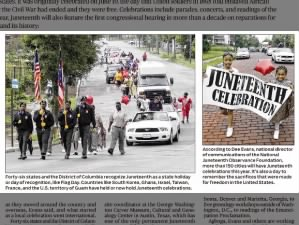 46 states and District of Columbia officially recognize Juneteenth, celebrations in 150+ cities