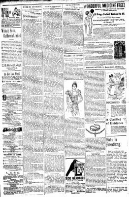 Logansport Pharos-Tribune from Logansport, Indiana on January 8, 1898 · Page 23