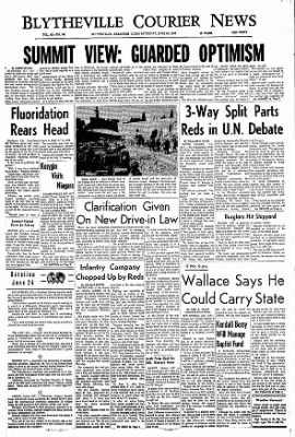 The Courier News from Blytheville, Arkansas on June 24, 1967 · Page 1