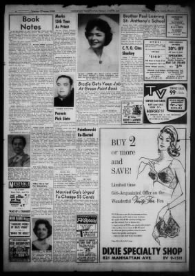 Greenpoint Weekly Star from Brooklyn, New York on June 23, 1961 · 8