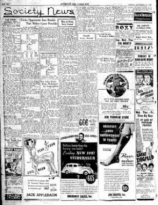 The Courier News from Blytheville, Arkansas on November 17, 1936 · Page 2