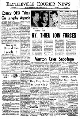 The Courier News from Blytheville, Arkansas on June 30, 1967 · Page 1