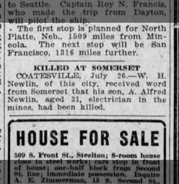 The Evening News from Harrisburg, Pennsylvania on July 26, 1919