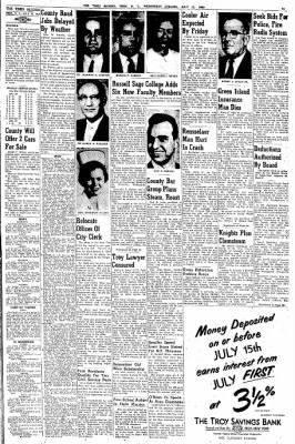 The Times Record from Troy, New York on July 13, 1960 · Page 13