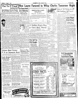 The Courier News from Blytheville, Arkansas on August 7, 1952 · Page 9