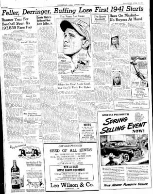 The Courier News from Blytheville, Arkansas on April 16, 1941 · Page 6