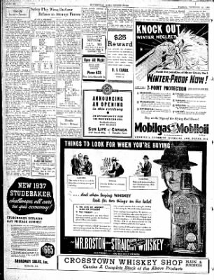 The Courier News from Blytheville, Arkansas on November 24, 1936 · Page 6