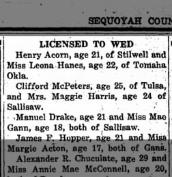 The Democrat American From Sallisaw Oklahoma On August 29 1919