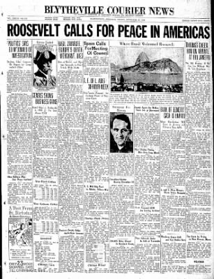 The Courier News from Blytheville, Arkansas on November 27, 1936 · Page 1