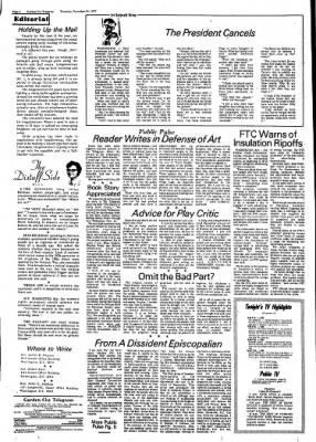 Garden City Telegram from Garden City, Kansas on November 10, 1977 · Page 4