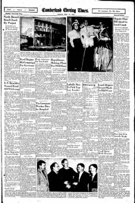 Cumberland Evening Times from Cumberland, Maryland on May 17, 1957 · Page 11